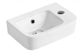 GERDA Ceramic Washbasin 37x14x24,5cm, right