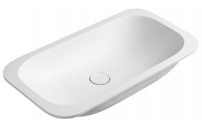 IMPALA Under-counter Washbasin 588x166x355mm, matt white