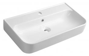SISTEMA U Washbasin 70x38 cm, white