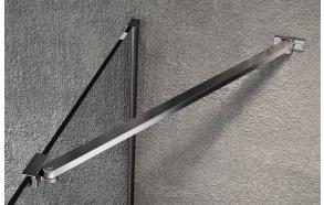 VARIO Shower Enclosure Corner Support Bar 650mm, black