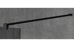 VARIO shower screen wall support bar 1400mm, black