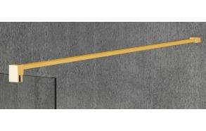 VARIO shower screen wall support bar 1400mm, gold