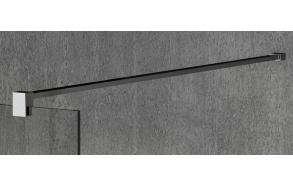 VARIO shower screen wall support bar 1400mm, chrome