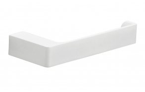 PIRENEI Toilet Paper Holder without Cover, white matt