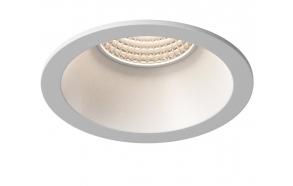 WICK aluminum ceiling lamp 82 mm, GU10, max 35W, white mat