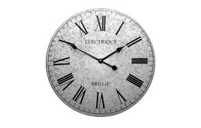 Clock, zinc