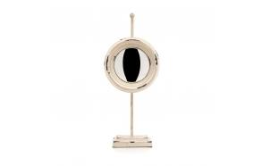 metal vintage table mirror