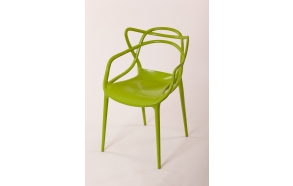 stackable chair Mucha, green