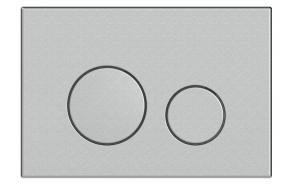 FOKA flushing plate M11 mat chrome