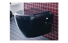 WC iste, aeglaselt sulguv (soft close), must