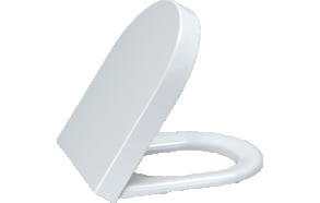 HISAR (DREAM,VITROYA) aeglaselt sulguv (soft close) WC iste, valge