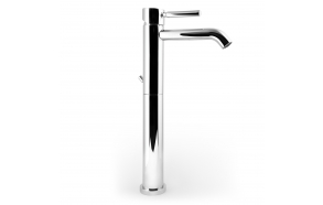 high basin mixer Form A, chrome finish