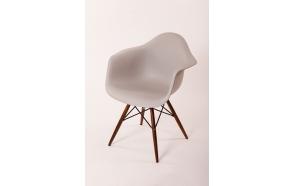 chair Beata, light grey, light brown feet