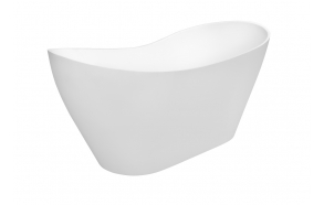 cast stone bath Vilya, no drain