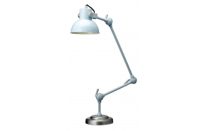 Table/Floor lamp 3 links, retro light blue