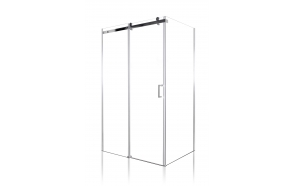 shower enclosure Peony 100x90x190 cm (RSD-PEO-100+RSW-PEO-90)