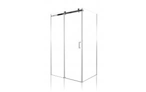 shower enclosure Peony 110x70x190 cm (RSD-PEO-110+RSW-PEO-70)