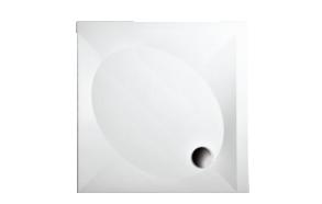 kivimassist dušialus 90x90, äravool 90 mm komplektis