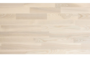 Saar 3-liist liimitav tappühendus, valge mattlakk,  22x2200x204 - B sort