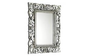 SAMBLUNG mirror with frame, 60x80cm, Silver Antique