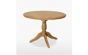 Round fixed top table