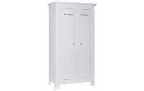 Barcelona - 2-door wardrobe, white