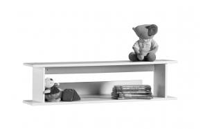 Simple shelf, white