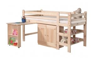 voodi, kirjutuslaud, kapp 190x90 cm, puit