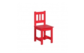 "chair ""Junior"", red"