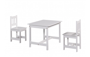 "table ""Junior"", white"