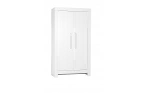 Calmo - 2-door wardrobe, white