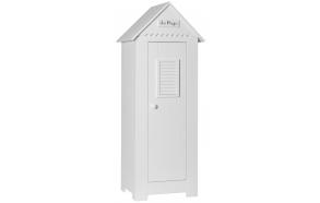 Marseilles - 1-door wardrobe, white