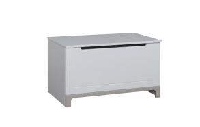 Mini - toy box, white+grey