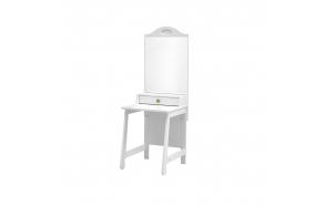 Parole - dressing table, white+green
