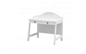 Parole – desk, white+brown