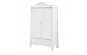 Parole - 2-door wardrobe, white