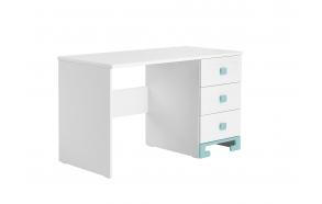 ToTo – desk,white+turquoise