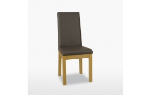 Enna upholstered chair (leather) *