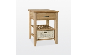 Single basket console table