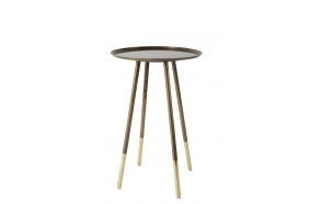 Side Table Eliot Brass Antique
