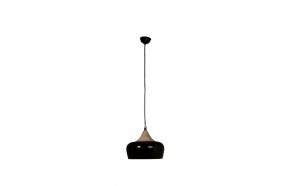 Pendant Lamp Coco Glossy Black