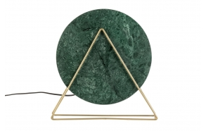 Table Lamp Louis Marble Green
