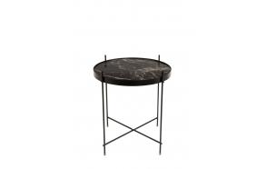 Side Table Cupid Marble Black