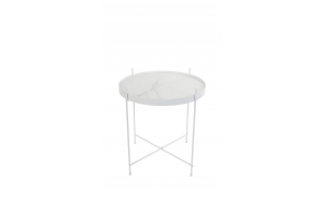 Side Table Cupid Marble White