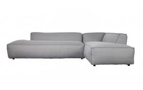 Sofa Fat Freddy Right Comfort Light Grey 91