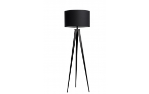 Floor Lamp Tripod Black