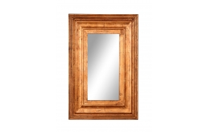 "36""H MDF Framed Mirror, Handmade in India"