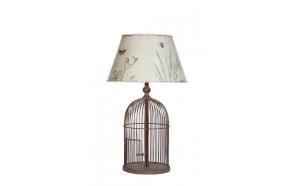 55 cm metallist linnupuurikujuline laualamp