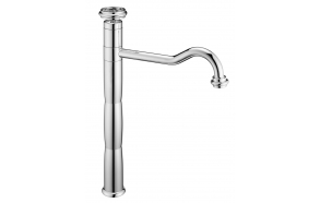 high basin mixer Kia, chrome
