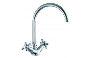 KITCHEN MIXER MAREA, CHROME